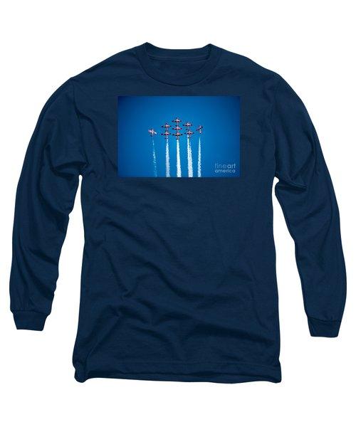 The Canadian Snowbirds Long Sleeve T-Shirt