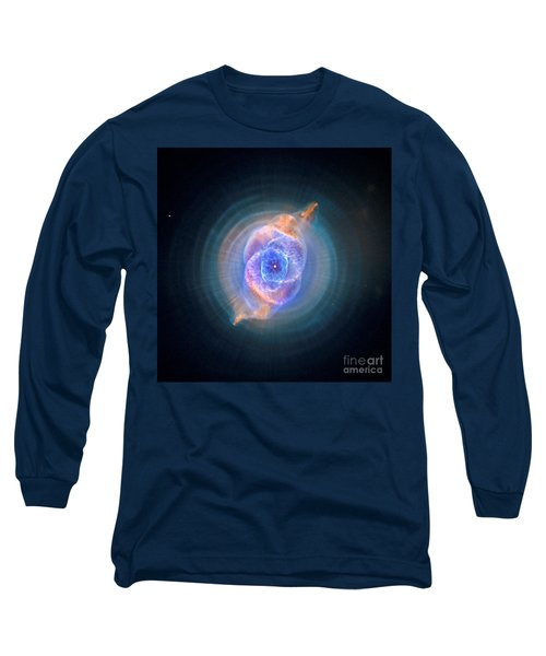 The Cat's Eye Nebula Long Sleeve T-Shirt