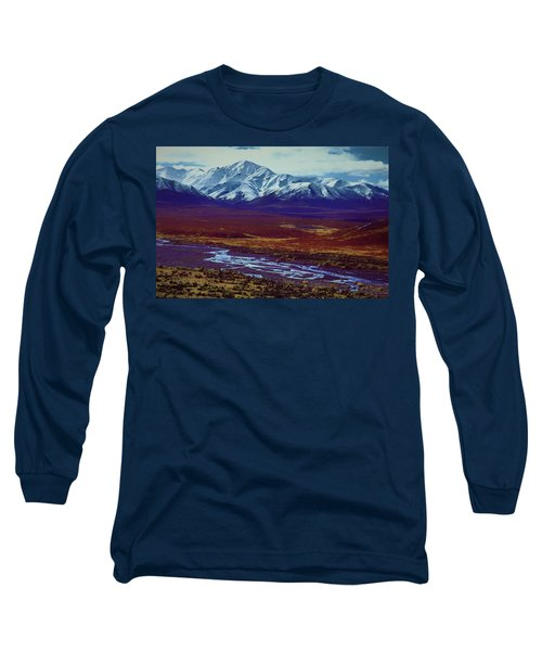 The Colors Of Toklat River Long Sleeve T-Shirt