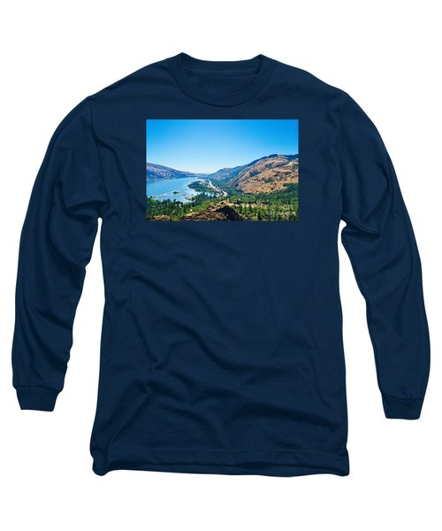 The Columbia River Gorge Long Sleeve T-Shirt by Ansel Price