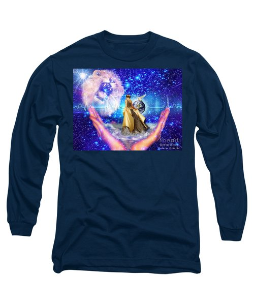 Long Sleeve T-Shirt featuring the digital art The Depth Of Gods Love by Dolores Develde