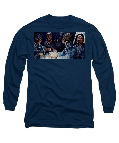 The  Desolation Of Poverty Long Sleeve T-Shirt