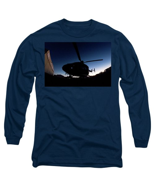 Long Sleeve T-Shirt featuring the photograph The Dot by Paul Job