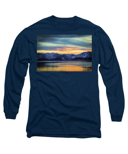 The Evening Colors Long Sleeve T-Shirt by Mitch Shindelbower