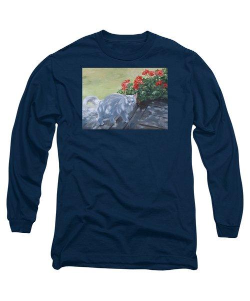 A Feral Cloud Long Sleeve T-Shirt by Connie Schaertl