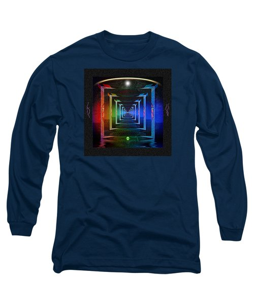 Long Sleeve T-Shirt featuring the digital art The Fundamental Roots Of The Cosmos by Mario Carini