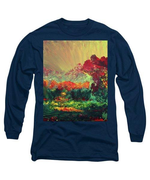 The Garden Long Sleeve T-Shirt by Karen Nicholson