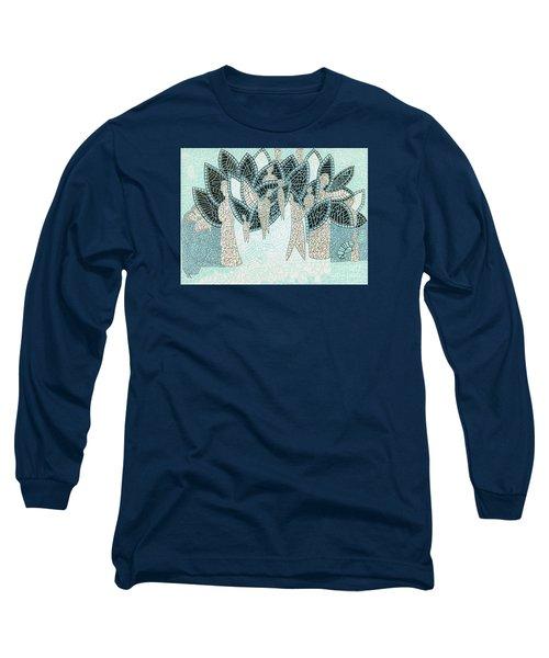 The Garden Of Eden Long Sleeve T-Shirt