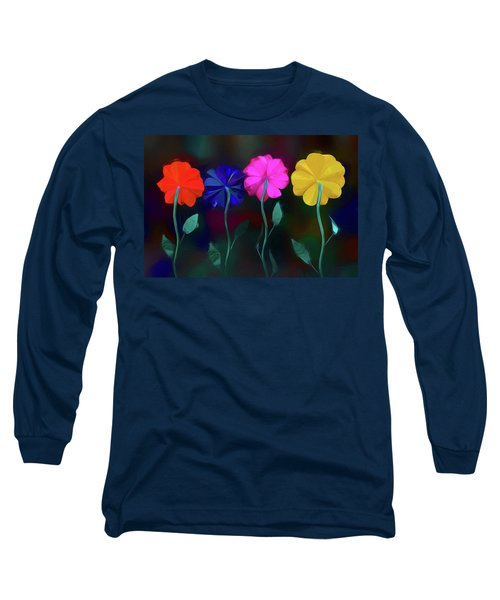 Long Sleeve T-Shirt featuring the photograph The Garden by Paul Wear