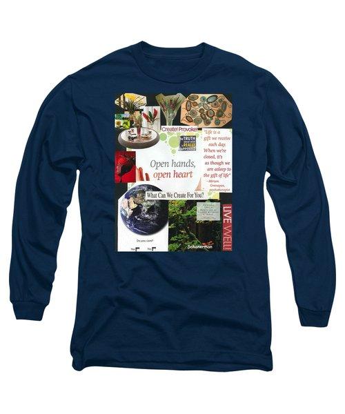 The Gift Of Creativity Long Sleeve T-Shirt