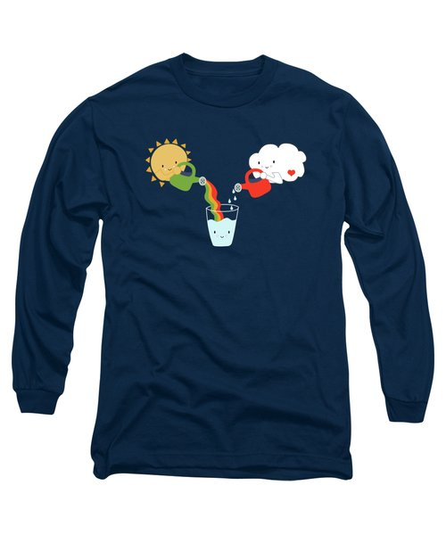 The Glass Is Refillable Long Sleeve T-Shirt