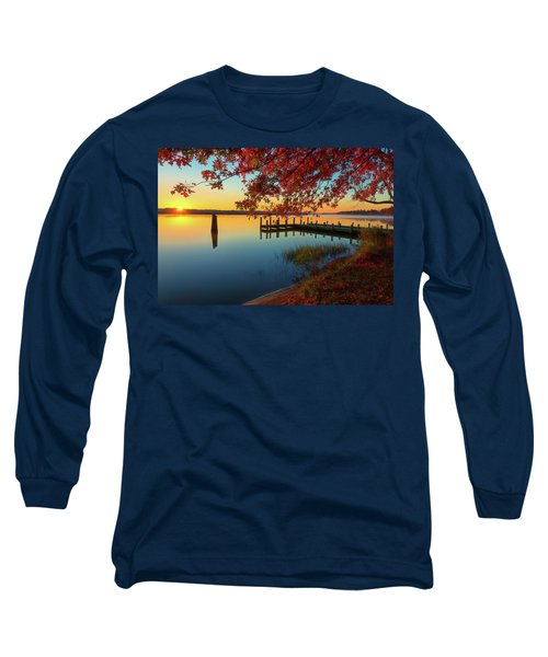 The Glassy Patuxent Long Sleeve T-Shirt