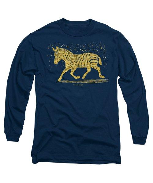 The Golden Zebra Long Sleeve T-Shirt