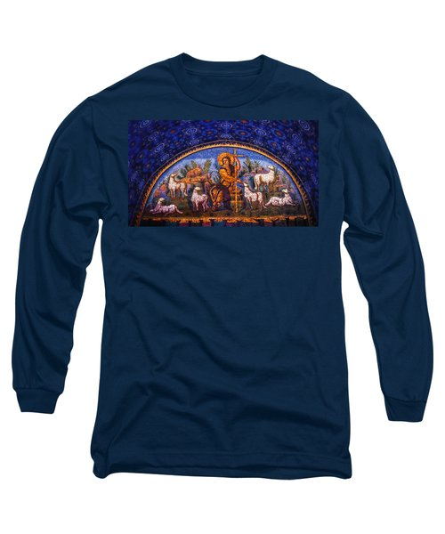 Long Sleeve T-Shirt featuring the photograph The Good Shepherd by Nigel Fletcher-Jones