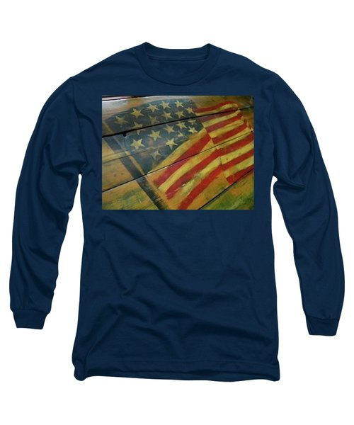 The Great American West Cafe  Long Sleeve T-Shirt by Sian Lindemann
