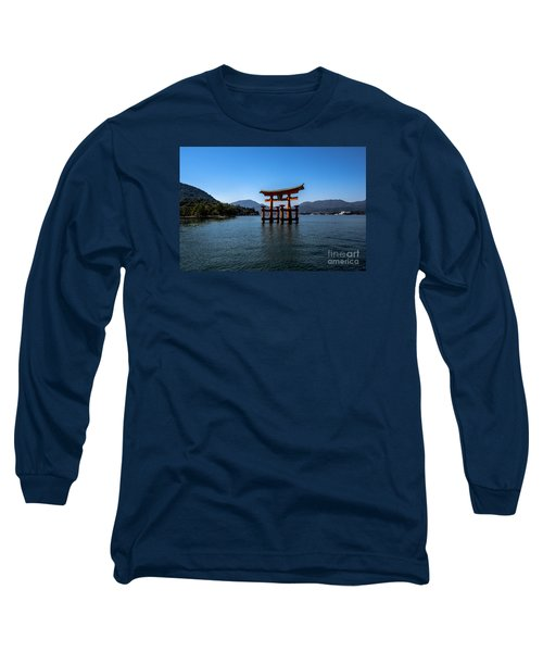 Long Sleeve T-Shirt featuring the photograph The Great Torii by Pravine Chester