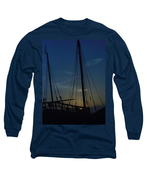 Long Sleeve T-Shirt featuring the photograph The Journey Began by John Glass