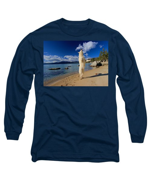 The Joy Of Being Well Loved Long Sleeve T-Shirt by Sean Sarsfield