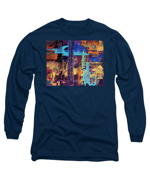 The La Sky On The 4th Of July Long Sleeve T-Shirt
