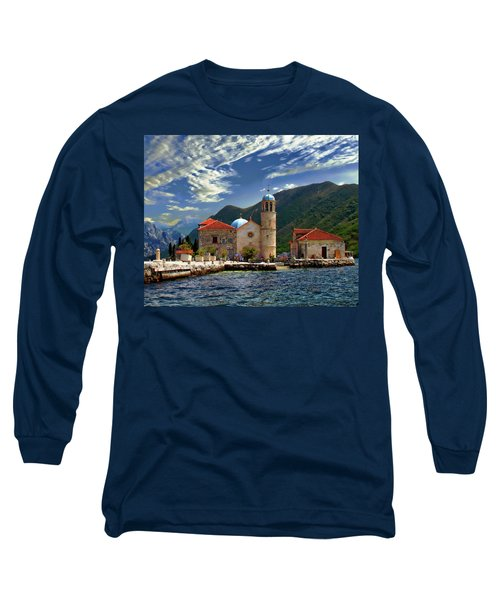 The Lady Of The Rocks Long Sleeve T-Shirt