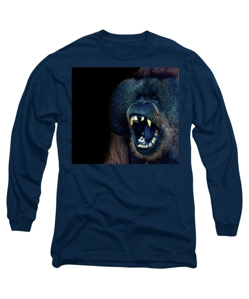 The Laughing Orangutan Long Sleeve T-Shirt