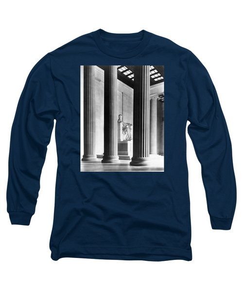 The Lincoln Memorial Long Sleeve T-Shirt by War Is Hell Store