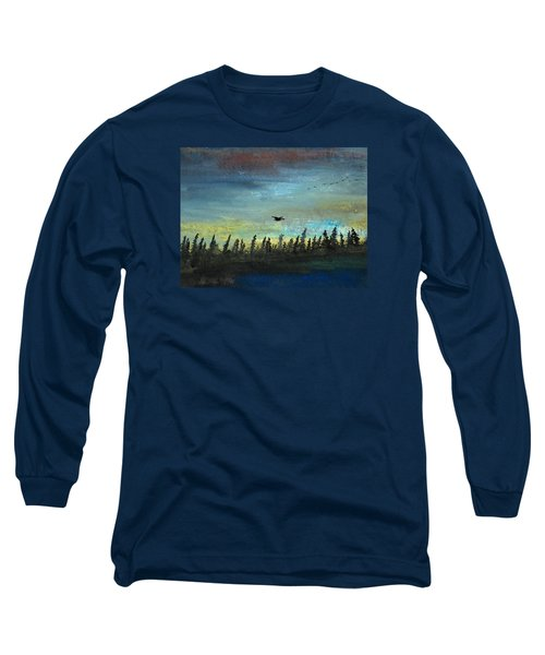 The Loner Long Sleeve T-Shirt by R Kyllo