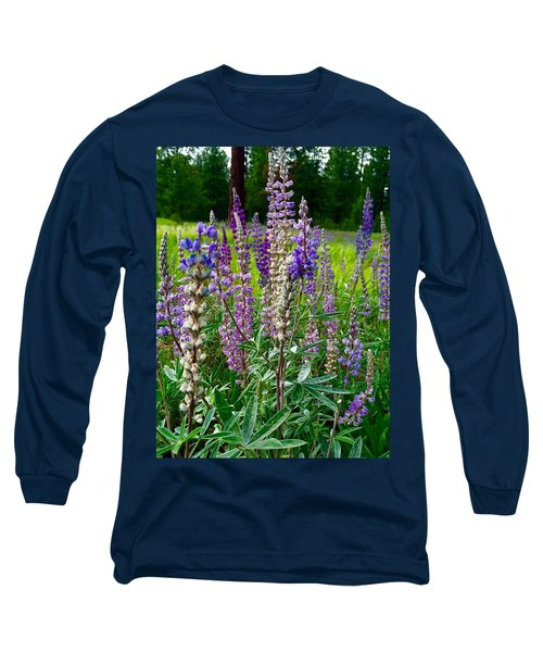 The Lupine Crowd Long Sleeve T-Shirt