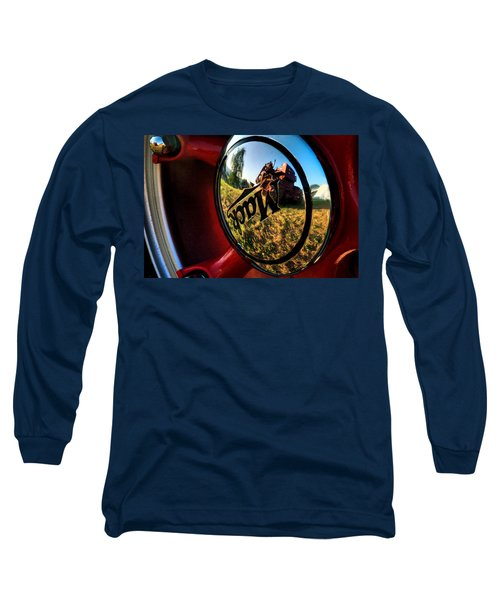 The Mack Truck Long Sleeve T-Shirt by Linda Unger