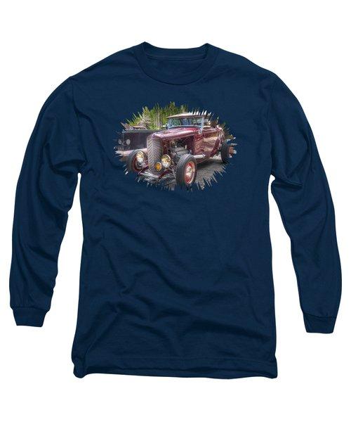 Maroon T Bucket Long Sleeve T-Shirt