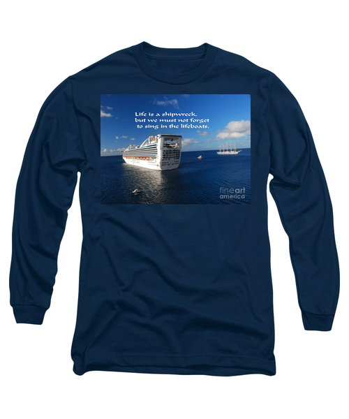 The Meaning Of Life Long Sleeve T-Shirt