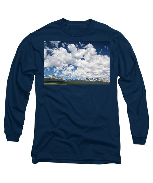 The Mid Point Between Ante Meridiem And Post Meridiem, Between A.m. And P.m.  Long Sleeve T-Shirt