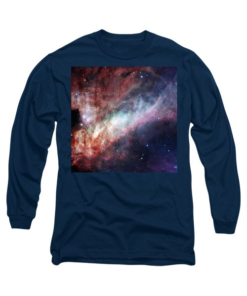 Long Sleeve T-Shirt featuring the photograph The Omega Nebula by Eso
