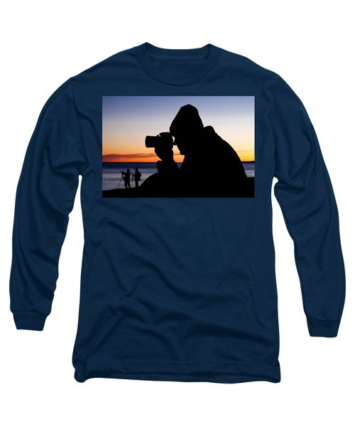 The Photographer Long Sleeve T-Shirt by Greg Fortier