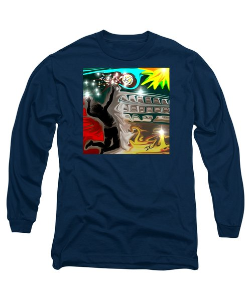 The Power Of Volleyball Long Sleeve T-Shirt