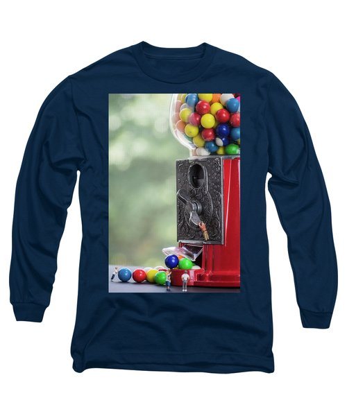 The Problem With Gumball Machines Long Sleeve T-Shirt