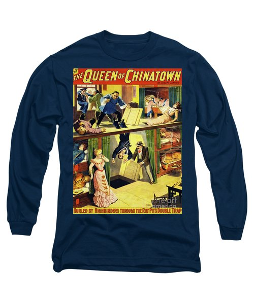 The Queen Of Chinatown Long Sleeve T-Shirt