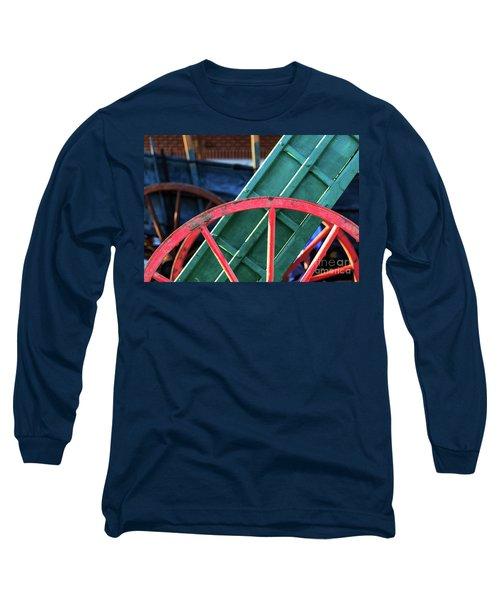 The Red Wagon Wheel Long Sleeve T-Shirt