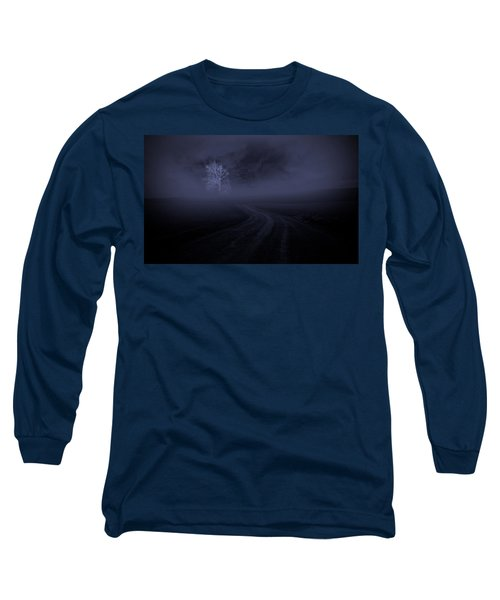 Long Sleeve T-Shirt featuring the photograph The Road by Robert Geary