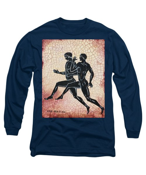 The Runners Long Sleeve T-Shirt by Victor Minca