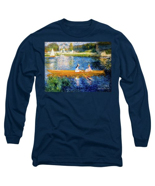 Boating On The Seine Long Sleeve T-Shirt