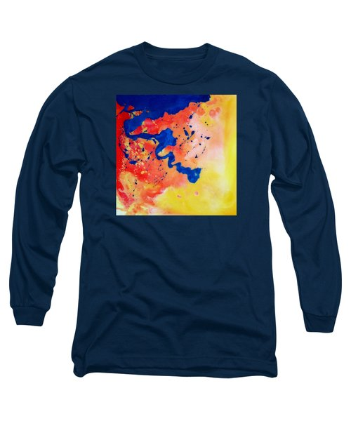 The Spill Long Sleeve T-Shirt by Mary Kay Holladay