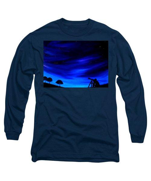 The Star Gazer Long Sleeve T-Shirt by Scott Wilmot