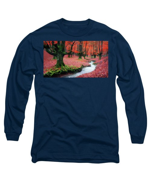 The Stream Of Life Long Sleeve T-Shirt