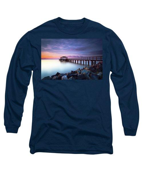 The Sun Watcher Long Sleeve T-Shirt by Edward Kreis