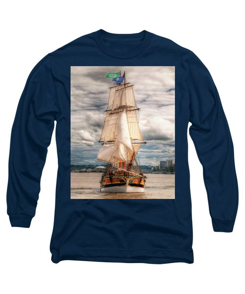 The Tall Ship The Lady Washington Long Sleeve T-Shirt
