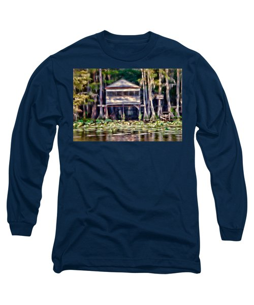 Long Sleeve T-Shirt featuring the photograph The Tea Room by Lana Trussell