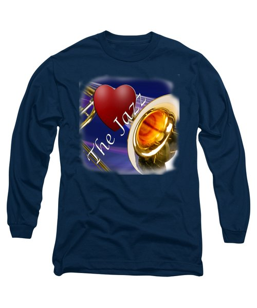 The Trombone Jazz 002 Long Sleeve T-Shirt