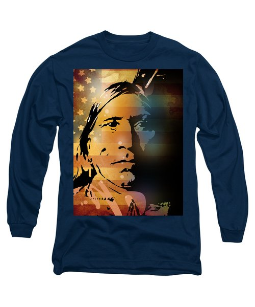 The Vanishing American Long Sleeve T-Shirt