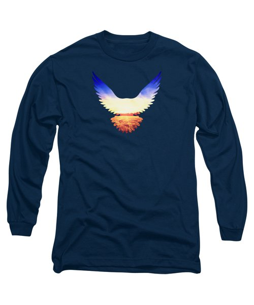 The Wild Wings Long Sleeve T-Shirt by Philipp Rietz